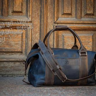 Кожаная спортивная сумка, Дорожная сумка из кожи
