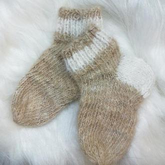 Шкарпетки з собачої шерсті носки шерстяные носочки