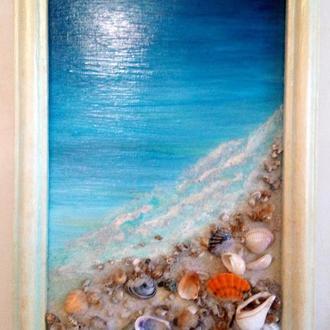 """Картина панно """"Море"""""""