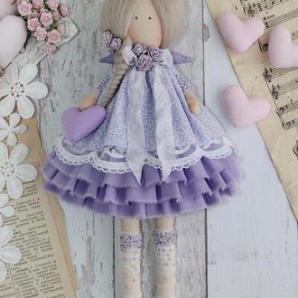 Интерьерная  кукла-ангел в стиле Тильда