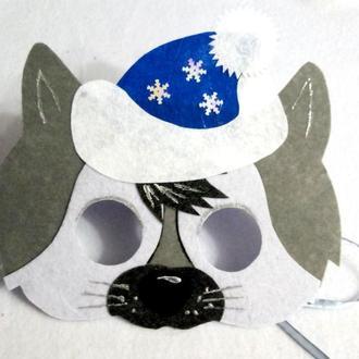 Новогодние маски волка