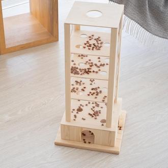 Игрушка - головоломка для кошек Pets Lounge Food Tower