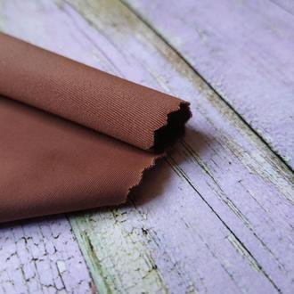Матовый трикотаж для тела кукол молочный шоколад