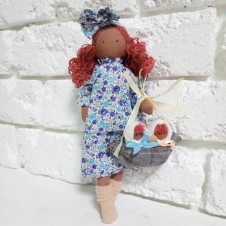 Кукла Мама с детьми Текстильная кукла Тильда