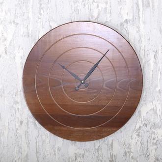 Настенные часы Dabo Flow Ø60 - OLha из дерева