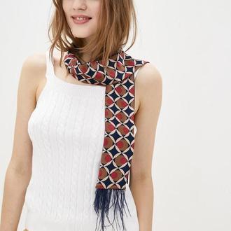 Стильный галстук Твилли с перьями, лента для волос от MyScarf