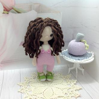 Куколка Элли крючком ,рост 19 см