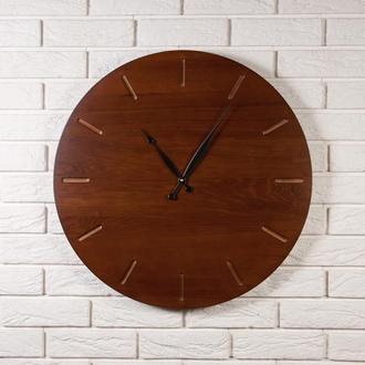 Настенные часы Dabo Classic Ø60 - Olha из дерева