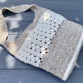 Женская сумка ручной работы / эко сумка