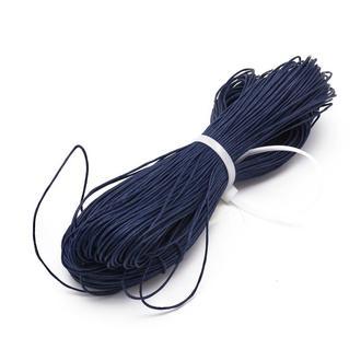 Шнур вощеный хлопок d-0.7мм Темно-синий \ Si - 09710-018326