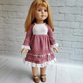 Платье на куклу Паола 60 см, подарок девочке