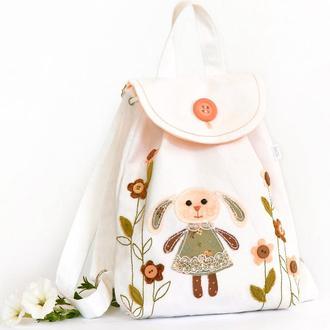 Детский рюкзак с аппликацией- IrunToys