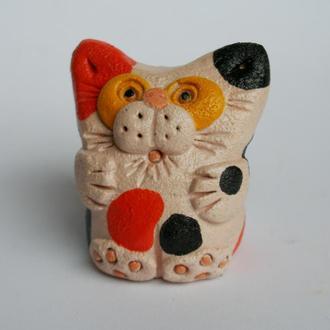 """Керамічна фігурка сувенір """"Кіт"""""""