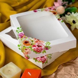 Коробка подарочная / упаковка 10 шт 15см х 20см х 3см, Акварель_15х20