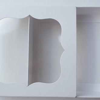 Коробка подарочная / упаковка 10 шт 12см х 12см х 3 см, Белый