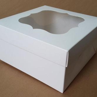 Коробка подарочная / упаковка 10 шт 17см х 17см х 9см, Белый