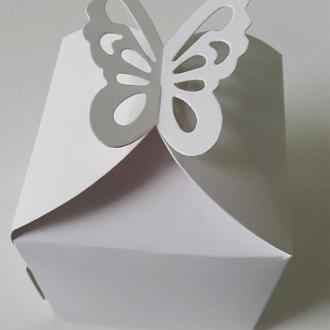 Коробка для 1-го капкейка / упаковка 10 шт
