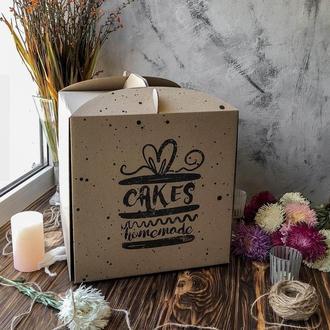 Коробка для торта 30 см без окна / упаковка 5 шт