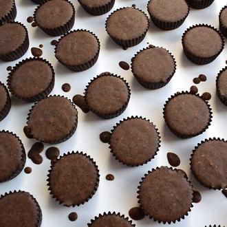 Твердый скраб для тела ,,Кофе - шоколад''