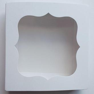 Коробка для текстиля 12х12х3 см