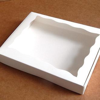 Коробка для текстиля 15х20х3 см белая