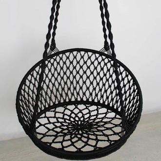Макраме качеля бохо гамак подвесное кресло