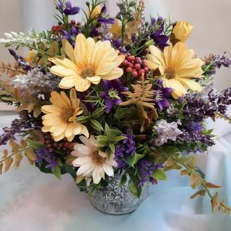 Интерьерная композиция Полевые цветы