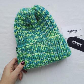 Объемная шапка Melange
