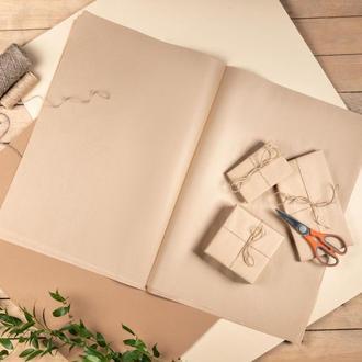 Крафт папір коричневий в листах 42х60 см