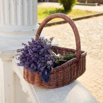 Плетеная корзина Овальная корзина Корзины для пикника
