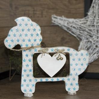 Декоративная лошадка «Blue star»