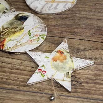 Новогодняя игрушка ′Vintage star′