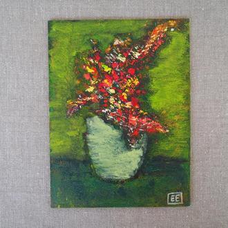 Картина маслом 15 х 20 см