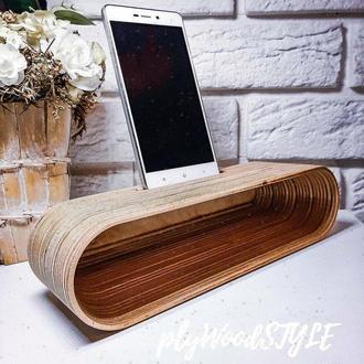 Подставка акустическая для смартфона