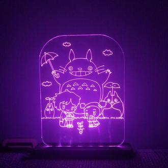 Светильник аниме Тоторо Totoro