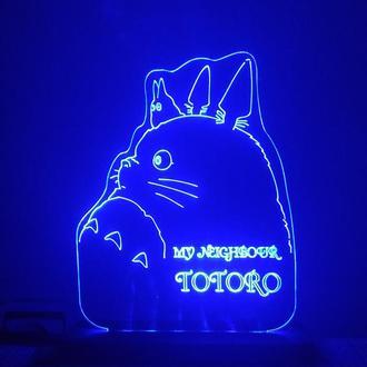 Светильник Мой сосед Тоторо аниме Totoro