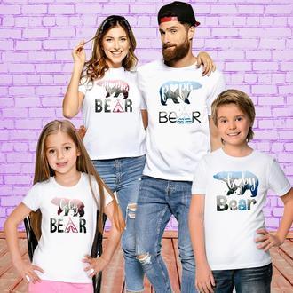 Футболки Push IT для всей семьи _Bear_ ФП001197