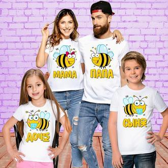 Футболки Push IT для всей семьи _Пчёлы_ ФП001191