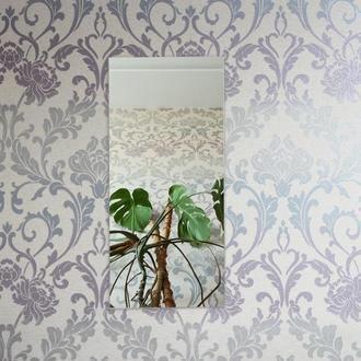 Прямоугольное настенное зеркало Зеркало на стене Декор для спальни Домашний декор