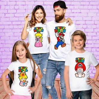 Футболки Push IT для всей семьи _Супер семья_ ФП001185