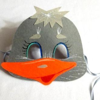 Карнавальная маска Веселый Гусь