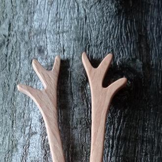 """Шпильки для волос """" лесные"""""""