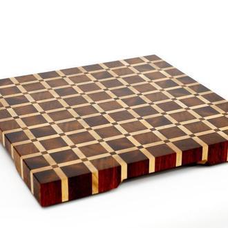 Разделочная доска, торцевая, экзотическая древесина