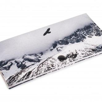 Женский кошелек -Полет в горах-