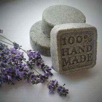 Натуральный Твердый шампунь ручной работы.