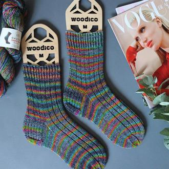 Вязаные носки Happy Feet