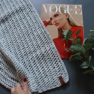 Вязаный шарф Gray