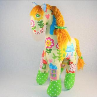 Текстильна іграшка Конячка Лілу