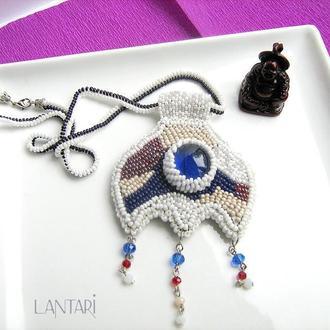 Бісерна вишивка «Лунница. Синій місяць»