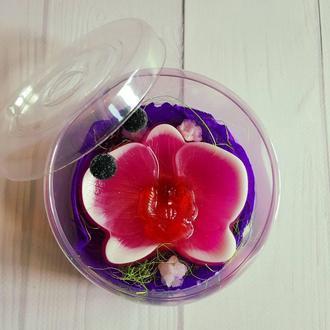 Мыло «Орхидея» !Выглядит роскошно и идеально подходит для подарка!